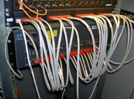 un patch panel